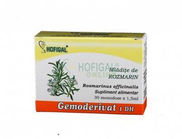 Gemoderivat Mladite De Rozmarin 30 monodoze*1.5 ml